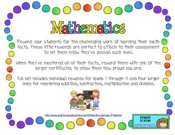 Math Awards by SunnyDays