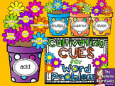 Math Bulletin Board - Cultivating Cues for Word Problems
