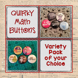 Math Button Custom Set of 10