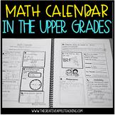 Math Calendar: K-5