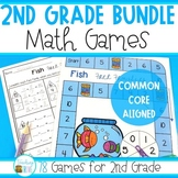 Math Games for Second Grade - Growing Bundle