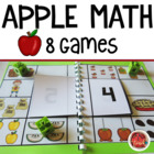 Math Centers Numbers 0-10 {6 Apple Theme Math Games}