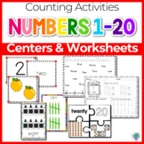 Numbers 1-20 Math Centers, Games, and Printables