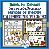 Math Centers Second Grade Differentiated Number of the Day