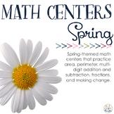 Math Centers: Springtime
