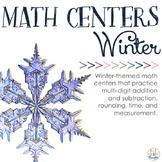 Math Centers: Wintertime