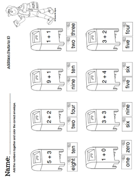 Math Centers and Worksheets Part 1