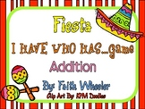 Math - Cinco de Mayo Fiesta: I Have Who Has Addition