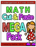 No Prep Math Pages- cut and paste