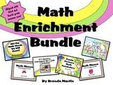 Math Enrichment Bundle