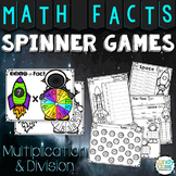 Math Fact Centers - Multiplication & Division