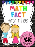 Math Fact Data Rings