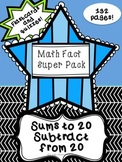 Math Fact Super Pack: Addition and Subtraction Facts