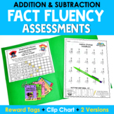 Math Facts Fluency Assessments {Addition & Subtraction}