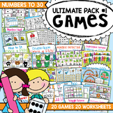 Numbers to Thirty Ultimate Pack Number Games Centers