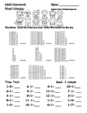 Math Homework -Place Value, Ordering Numbers, & Comparing Numbers