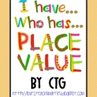 Math - I Have...Who Has...PLACE VALUE (tens and ones)