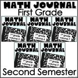 Math Journal Bundle Second Semester
