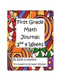 Math Journal First Grade- Second 9 Weeks (updated)
