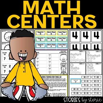 Math Mania (5 Math Games/Centers)