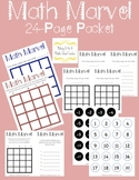 Math Marvel Game ~ Fun, Differentiated Use of Critical Mat