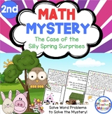 Math Mystery-Case of the Silly Spring Surprises-Grade 2