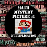 Math Mystery Picture #1 Multiplication