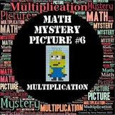 Math Mystery Picture #6 Multiplication