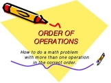 Math Order of Operations