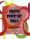 Math Poke-a-Fact