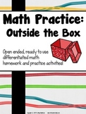 Math Practice:  Outside the Box Grades 3-5