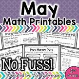 Math Printables for May -2nd Grade (No Fuss!)