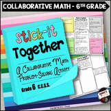 Math Problem-Solving Collaborative Activity for Grade 6 Co