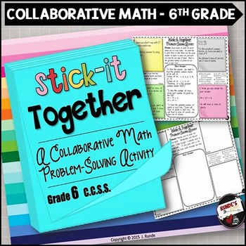 Math Problem-Solving Collaborative Activity for Grade 6 Common Core