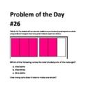 Math Problem of the Day TEKS 2.3C TEKS 2.3B Fractions