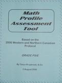 Math Profile Assessment Tool -- Grade 5