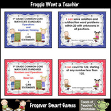 """Math Resource -- """" I Can"""" Statements 1st Grade Common Core"""