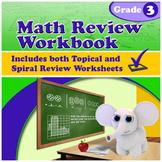 Math Review Workbook - Grade 3