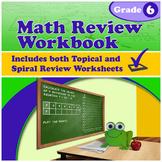 Math Review Workbook - Grade 6