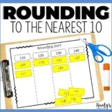 Math Sorts - Rounding to the Nearest Ten