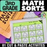 Math Sorts for Math Stations - BUNDLE
