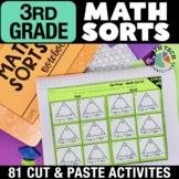 Math Sorts for Math Stations - BUNDLE