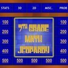 7th Grade Math Standardized Test Prep Jeopardy® Game