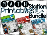 Math Station Printable Bundle