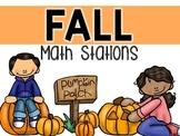 Math Stations {October}
