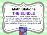 Math Stations: THE BUNDLE