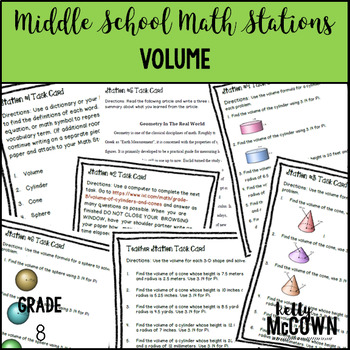 Math Stations: Volume