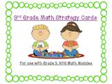Math Stratgey Cards - NYS Math Module, Grade 3