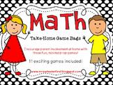 Math Take-Home Game Bags