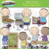 Math Tommy Clip Art